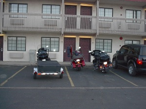 Amarillo Texas, Motorcycle Ride