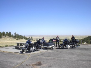 motorcycle ride Wyoming