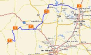 Hill Country Fall Foliage Motorcycle Ride