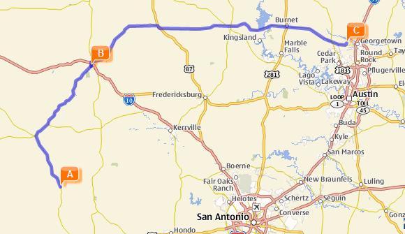 Texas Hill Country The Texas Rambler